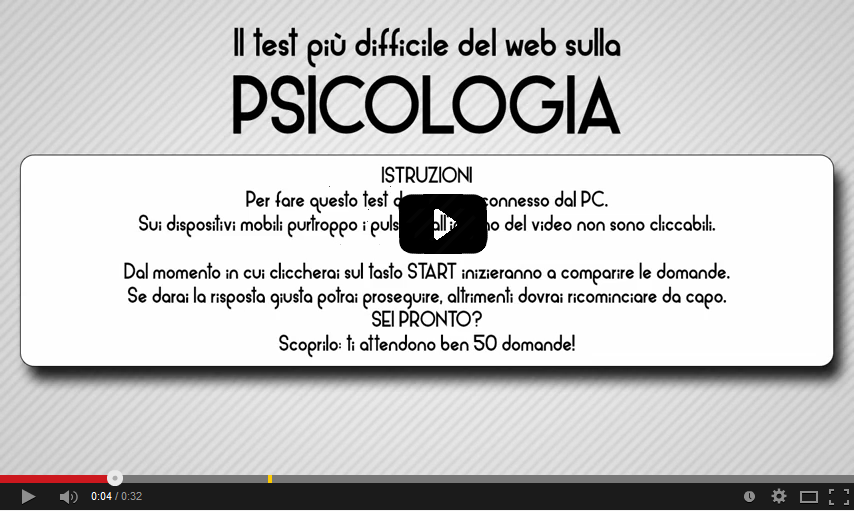 Psicologia il test antro di chirone for Test scienze politiche